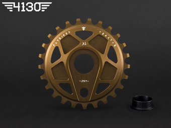 TRACTOR XL Sprocket 25T -Dark Gold-