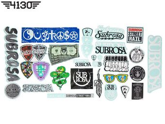 SUBROSA Sticker Packs A