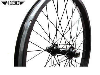 FLY Trebol Front Wheel Set [Female Type] -Flat Black-