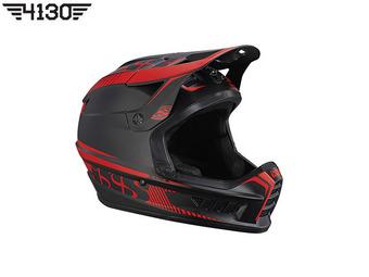 iXS 엑스액트 풀페이스 헬멧 [Xact Full Face Helmet] 블랙/레드 -M/L-