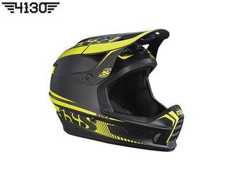 iXS 엑스액트 풀페이스 헬멧 [Xact Full Face Helmet] 블랙/옐로우 -XS /SM-