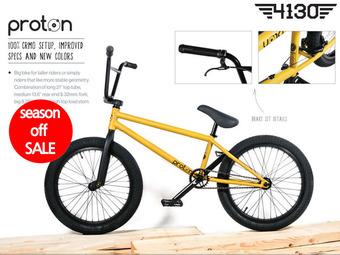 """*시즌오프세일*[국내 당일 발송] 플라이 프로톤 BMX 2015년형 / FLY 2015 Proton 21""""TT BMX -Flat Mustard LHD- 무광 머스타드"""