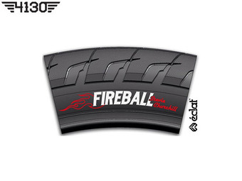 "Eclat FIREBALL Tire [Stevie Churchill S.G] -Black- [ 2.3"" / 2.4"" 중 선택 ]"