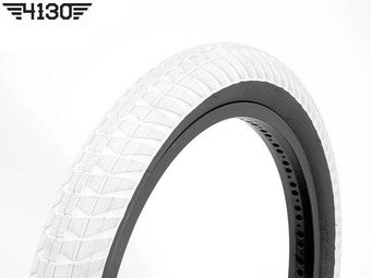 "FLY RUBEN Rampera2 Tire 2.35"" -White / Black Sidewall-"