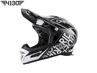 2017 O`Neal Fury RL Helmet Fuel Black / White (오닐 퓨리 알엘 헬멧 퓨얼) -Large-