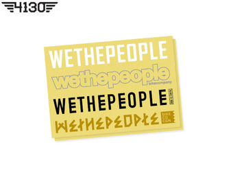 WeThePeople 4 BIG Frame Sticker Set