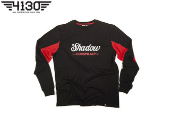 SHADOW Contender LS Jersey Black/Red