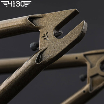 FLY GEO 2 BMX Frame 21 TT -Gloss Metallic Brown- [Courage Adams Color Way] 16만원 할인