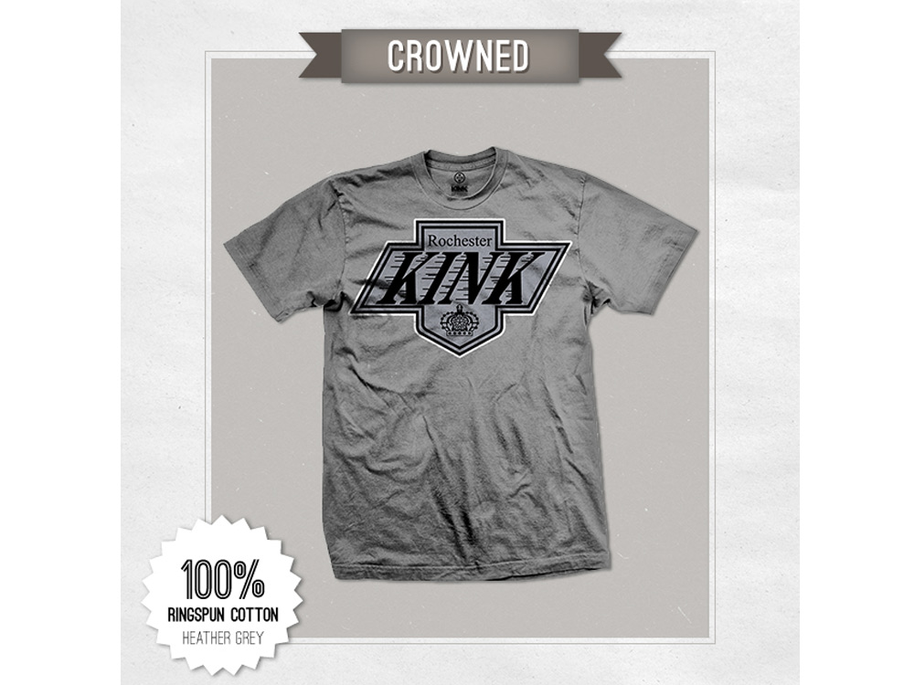 KINK CROWNED -GRAY-  [크리어런스 세일] - M / XL -