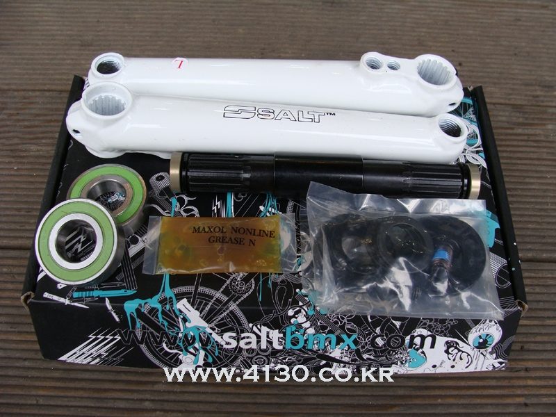 SALT pro 3 pc crank -white-