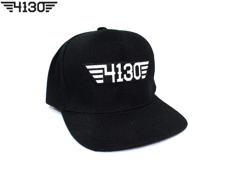 4130BIKE Snap Back [All Black]