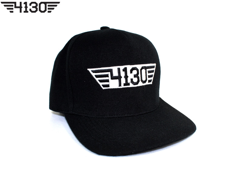 4130BIKE Snap Back [Black&White]