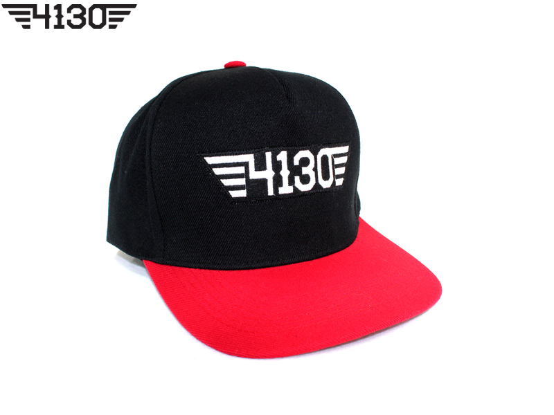 4130BIKE Snap Back [Red&Black]