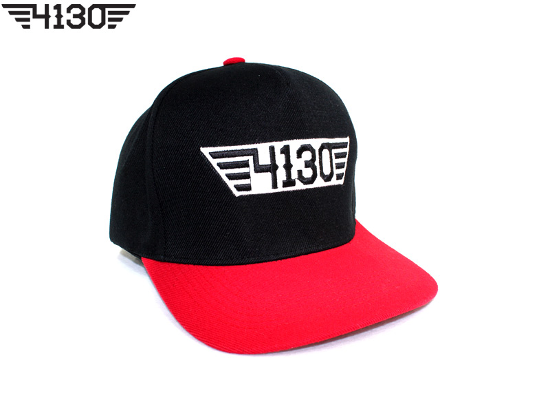 4130BIKE Snap Back [Red&White]