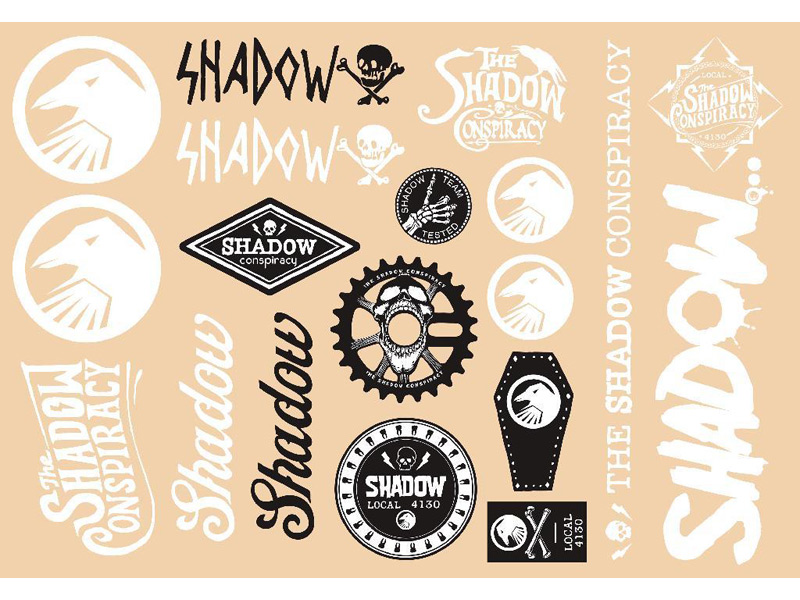 SHADOW Sealed Sticker Packs