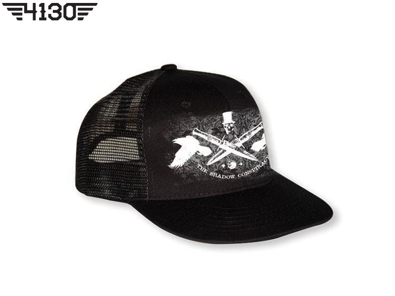 TSC Darkness Mesh Hat Black