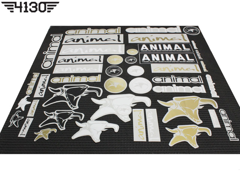 ANIMAL Sticker Set -New Ver.-