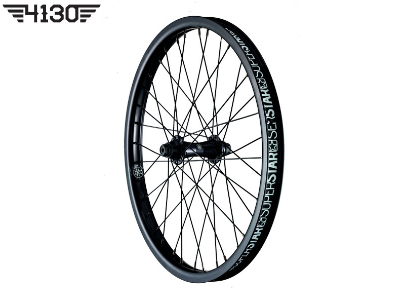 SUPERSTAR Overdrive Midnight Front wheel -Black-