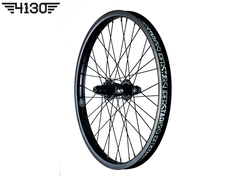 SUPERSTAR Overdrive Midnight Rear wheel -Black- [좌구동]
