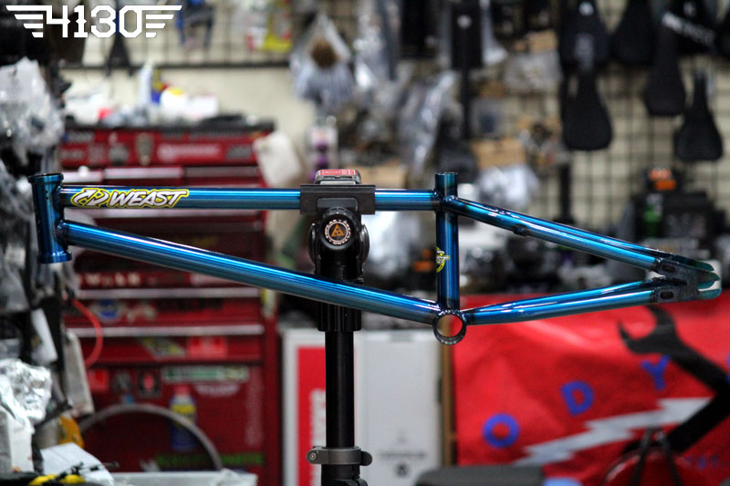 "ST-MARTIN Weast Frame blue clear coating 18.9"" TT"