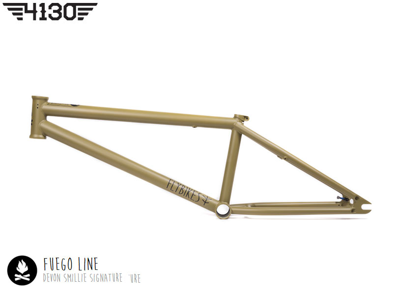 "FLY Fuego 2 Frame21""TT Flat Military Green"