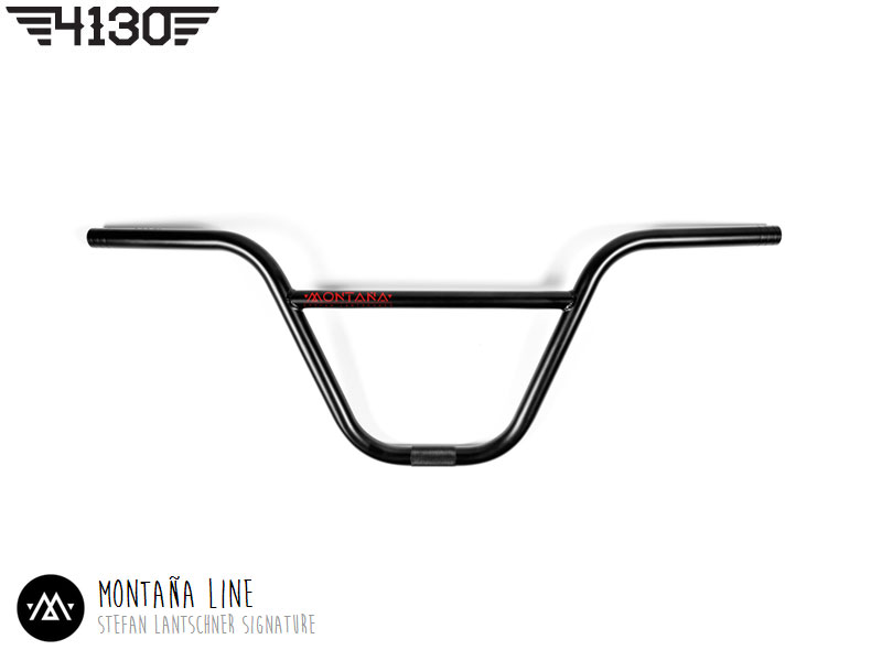 "FLY Montana Bar 8.75"" Flat Black"