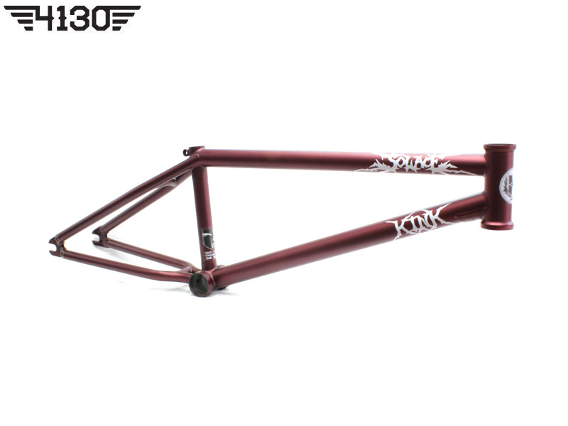 "KINK 2015 NEW TONY HAMLIN SIGNATURE SOLACE2 BMX FRAME RED -20.75""TT- [구매시 킨크 헤드셋 무료증정]"