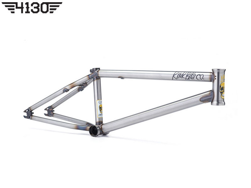 "KINK NEW SEAN SEXTON SIGNATURE ISSUE4 BMX FRAME -20.5""TT- [RAW]"