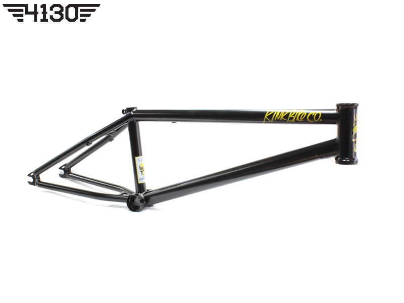 "KINK NEW SEAN SEXTON SIGNATURE ISSUE4 BMX FRAME -20.5""- [BLACK]"