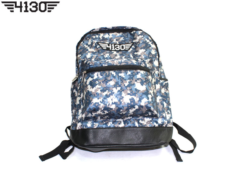 4130 BackPack A -Blue Camo-
