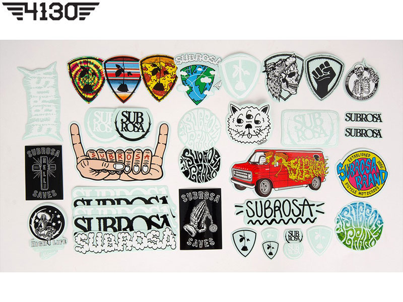 SUBROSA 2015 Sticker Packs