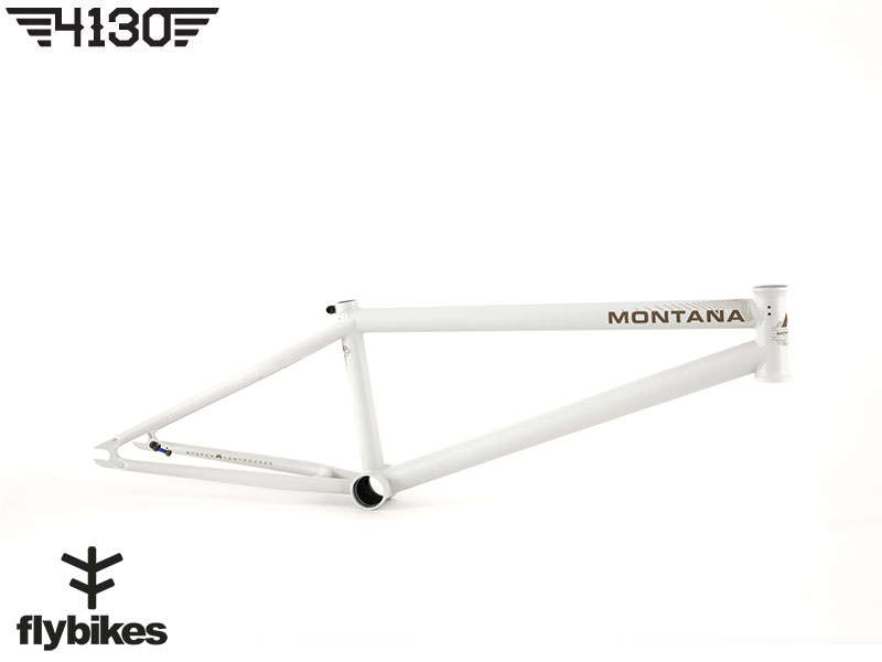 "FLY MONTANA7 BMX Frame 20.8""TT -Flat Dirty White-"