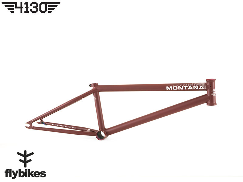 "FLY MONTANA7 BMX Frame 20.8""TT -Flat Wine Red-"