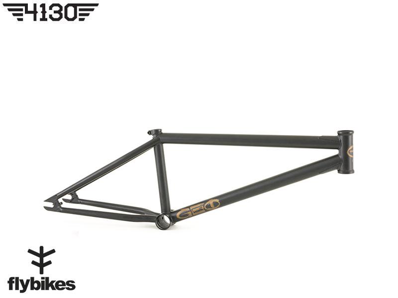 "FLY GEO BMX Frame 20.7""TT -Flat Black-"