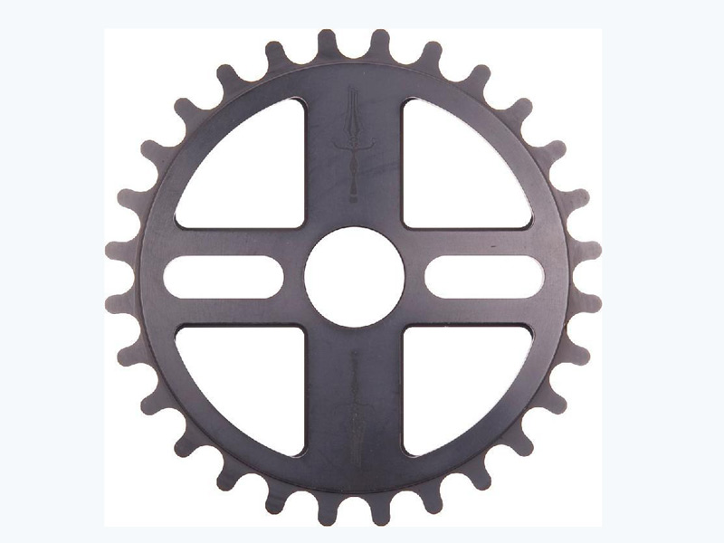 The Make_Ring Of Fire Sprocket Black 25T [스페셜 세일]