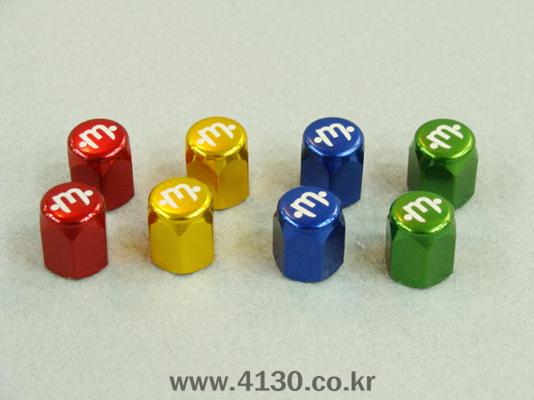 Mission Valve cap -4 color-